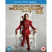 The Hunger Games: Mockingjay Part 2 (Blu-ray 3D + Blu-ray + UV Copy) [2015]